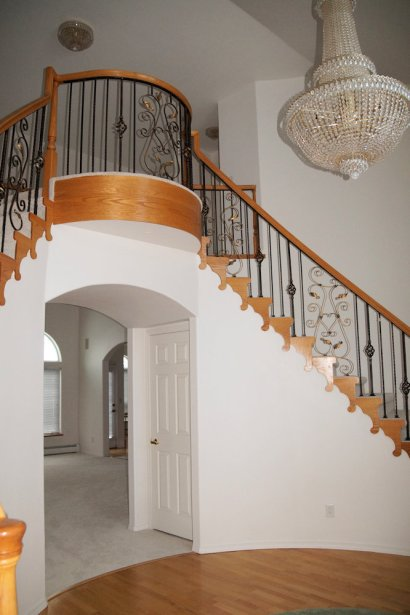 Staircase & Balcony