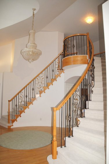 Foyer & Double Staircase