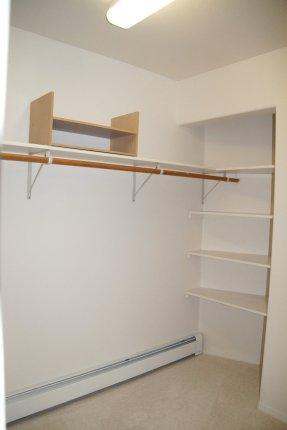 Upper Level Master Suite Closet